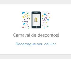 Desconto na recarga de celular pelo app Mercado Livre