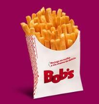 Batata Frita Grande do Bob's por R$ 5,00