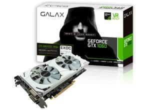 Placa de vídeo Galax GeForce GTX 1060 6GB EXOC White GDDR5 192Bits - R$ 1129