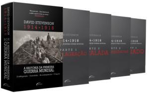Box - A História da Primeira Guerra Mundial - 1914-1918 - 4 Volumes por R$ 39
