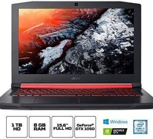 Notebook Gamer Acer Aspire Nitro 5, AN515-51-77FH, Intel Core i7 7700HQ, 8GB RAM, HD 1TB, NVIDIA GeForce GTX 1050