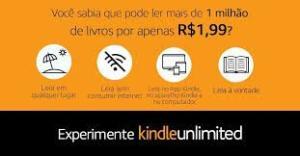 3 meses de Kindle Unlimited por apenas R$1.99