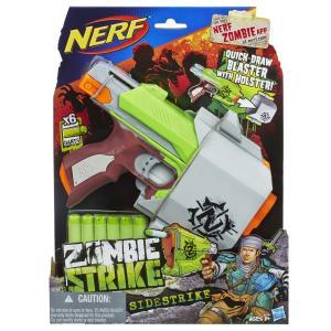 Lançador de Dardos Nerf Hasbro Zombie Strike – Sidestrike