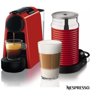 Cafeteira Nespresso Combo Essenza Mini Vermelho para Café Espresso - A3NRD30-BR - R$250