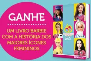 Ganhe 1 livro da Barbie nas compras acima de R$ 70,00 na Ri Happy