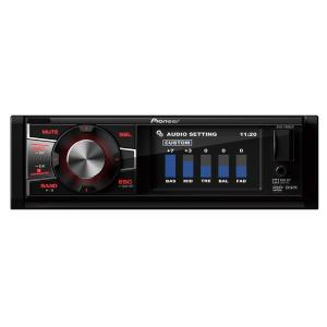 DVD Player Automotivo Pioneer DVH-7880AV 1 Din 3 Pol USB AUX MP3 CD WMA AM FM RCA Controle - R$249