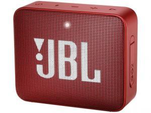 Caixa de Som Bluetooth Portátil à prova dágua - JBL GO 2 3W - R$119