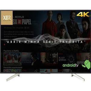 "Smart TV Android LED 70"" Sony XBR-70X835F Ultra HD 4k com Conversor Digital 4 HDMI 3 USB Wi-Fi Miracast - R$6299 (com AME, R$6159)"