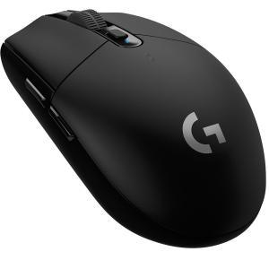 Mouse Gamer Logitech G305 Sem Fio Hero Lightspeed 12000DPI - R$150