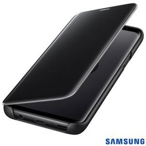 Capa para Galaxy S9 Clear View Standing Cover Preta - Samsung - EF-ZG960CBEGBR