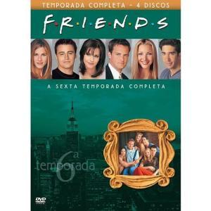 6° temporada completa de friends