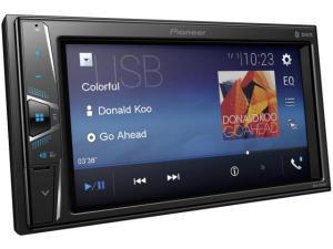 "Central Multimídia Pioneer MVH-G218BT LCD 6,2"" - Touch Câmera de Ré Bluetooth USB Auxiliar por R$ 522"