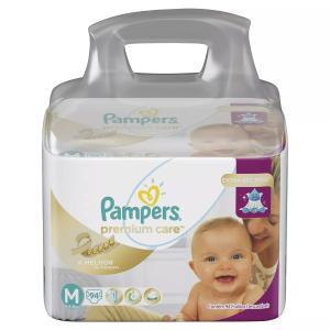 Fraldas Pampers Premium Care top | R$75