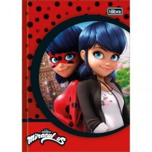 Caderno Brochura Capa Dura 1/4 Miraculous: Ladybug 48 Folhas - Sortido (Pacote com 5 unidades) - R$44