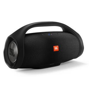 Caixa de Som Portátil JBL Boombox com Bluetooth, Connect+, À prova d'água - Preta - R$1.439