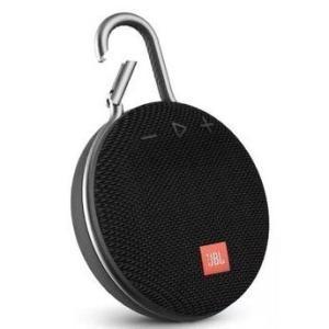 Caixa de som JBL Clip 3 / Bluetooth / USB Auxiliar / Viva Voz / A Prova de água / Preta | R$220