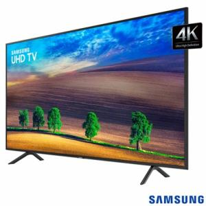 "Smart TV 4K Samsung LED 2018 UHD 50"", 50NU7100 por R$ 2176"