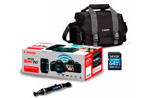 Combo EOS T6 Premium Kit | R$2.640