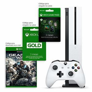 Xbox One S 1TB 3 meses de Gold & 3 meses de Gamepass com Kit Exclusivo Amazon