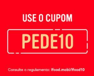 [Primeira Compra] Cupom de R$10,00 no Ifood