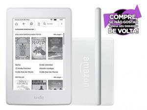 "Kindle 8ª Geração Amazon Tela 6"" 4GB Wi-Fi - Branco por R$ 234"