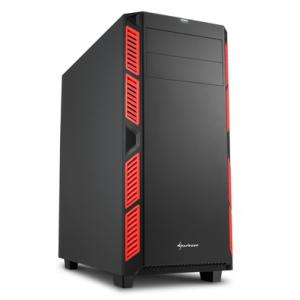 Gabinete ATX Sharkoon Silent Red AI7000
