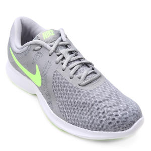 Tênis Nike Revolution 4 Masculino - Cinza (nº 38 ao 42)
