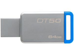 Pen Drive 64GB Kingston - DataTraveler 50 | R$70