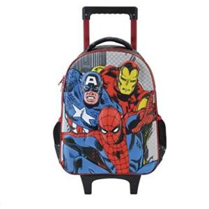 "Mala Com Rodas Infantil 14"" Marvel Comics Champions - Xeryus | R$119"