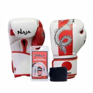 Kit Luva Boxe Muay Thai Competição Bucal Países Japão Naja - R$99