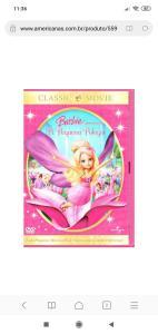 Dvd Barbie a pequena polegar