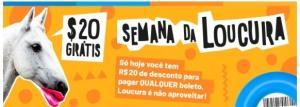 [Primeiro pagamento] R$20,00 DE DESCONTO GRÁTIS EM PAGAMENTOS DE BOLETOS NO APP DO RECARGAPAY.