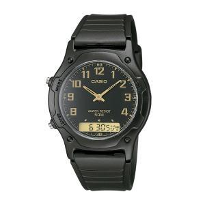 Relógio Casio Unissex Preto Anadigi AW-49H-1BVDF - R$104