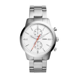 Relógio Fossil Townsman Masculino Prata Analogico FS5346/1BN - R$359