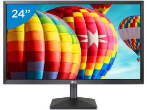"Monitor Full HD LG LED IPS 24"" c/ HDMI"