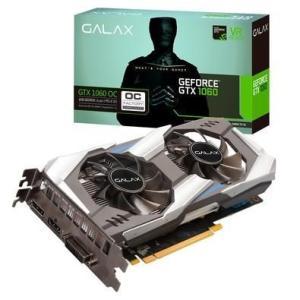 Placa de Vídeo VGA Galax NVIDIA GeForce GTX 1060 OC, 6GB, GDDR5X, 192 bits, PCI-E 3.0
