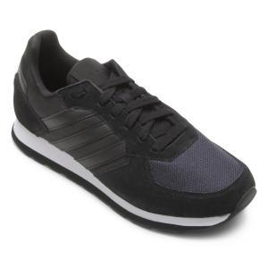 Tênis Adidas 8K Feminino - Preto - R$130