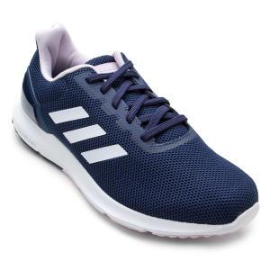 Tênis Adidas Cosmic 2 Feminino - Azul e Rosa - R$117