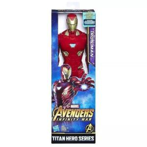Boneco Avengers Iron Man Articulado - Guerra Infinita - 30cm - FG Prime - 51% off