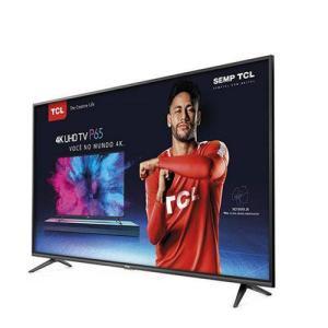 Smart Tv 4k Led Ultra Hd 50 Semp Tcl com Hdr Wi-fi 3 Hdmi 2 Usb P65us | R$1847