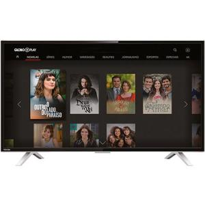 "Smart TV LED 32"" Toshiba 32L2800 HD com Conversor Integrado 3 HDMI 2 USB Wi-Fi 60Hz - Preta - R$873"
