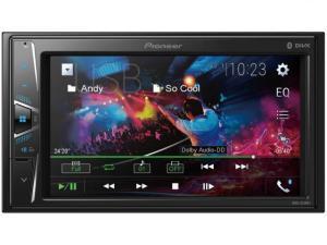 "Central Multimídia Pioneer MVH-G218BT LCD 6,2"" - Touch Câmera de Ré Bluetooth USB Auxiliar por R$ 500"