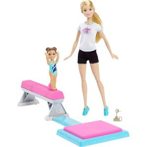 Boneca Barbie Ginasta Piruetas - Mattel   R$90