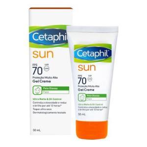Protetor Solar Galderma Cetaphil Sun Ultra Matte & Oil Control Fps 70 50ml | R$30