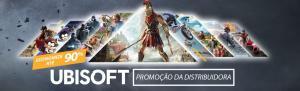 Ubisoft com ate 90% de desconto