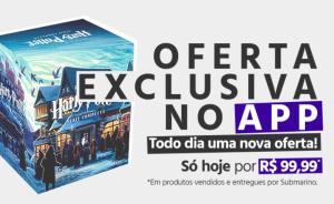 [Exclusivo APP] Livro | Box - Harry Potter - Série Completa (7 Volumes) Ed. Rocco, por J.K. Rowling - R$100