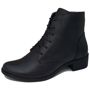 Bota Navit Shoes Lara Tratorada Preto | R$90