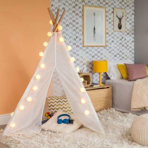 Tenda Infantil Tapii Unissex Natural e Creme | R$121