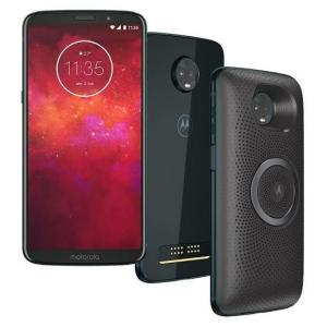 Smartphone Motorola Moto Z3 Play Stereo Speaker Edition, Câmera Traseira Dupla, 64GB, Indigo - XT1929-5