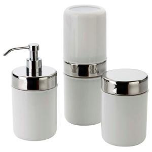 [BUG] Conjunto P/ Banheiro Forma Acquaset Branco - 3 Peças - R$11